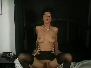 Dick Nasty Fucking and Filling Rebecca Lord's Mouth With Cum