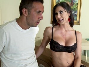 Big tits milf Kendra Lust laid by a big cock