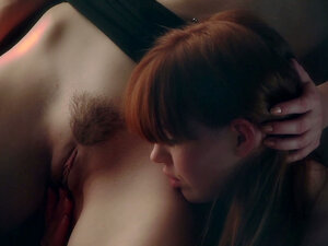Marie McCray & Karlie Montana tight redhead cuties licking pussies.
