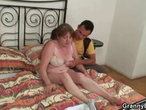 Granny needs a young dick
