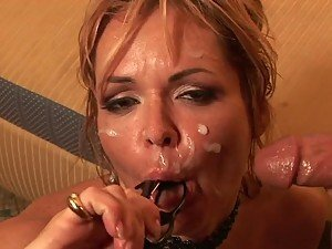 Naturally Breasted Blonde MILF Kelly Leigh Fucking a Tender Cock