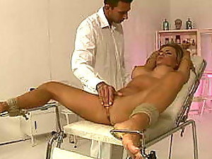 Busty Blonde Gets Tied Up and Abused In Rough Sex Video