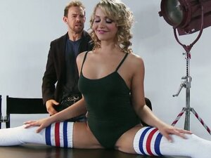 Flexible blond dancer mia malkova, flexible slut
