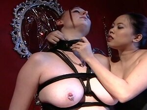 Janessa gets a lesson in how submissive girls should behave!