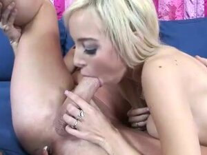 Morgan Layne ass to mouth blowjob in threesome