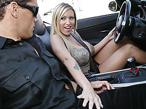 Super Pornstar Memphis Monroe kindly invited us to ride with her in the Streets of LA inside her shiny Beemer. She heard about this Ramon dude that happens to be a solid pounder with a huge cock. She picks him up to verify about him and is stunned to find