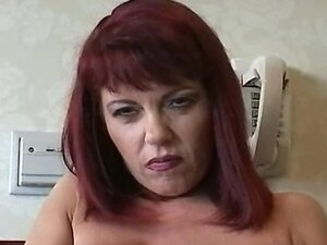 Hot Mature Cougar Rubee Tuesday Smoking and Playing