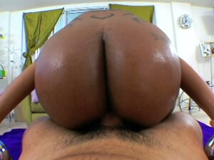 Flexible Cherokee gets pounded by a black dick
