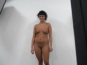 Czech Casting Kristyna shows how to suck cock