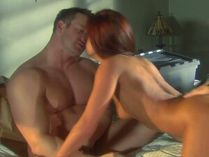 Kirsten Price fucks fiercely in a threesome