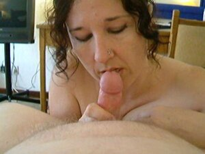 Found a big tit british milf sucking and fucking her fat husband