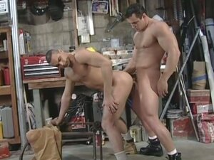Ramming tough with super muscled gays ace hanson and alex fuerte