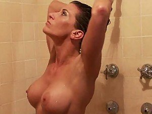 Ultimate Surrender Champion Gets Abused In The Shower After Sexy Fight