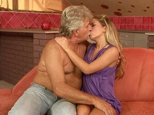 A gardener's job is to fuck this sexy blondie