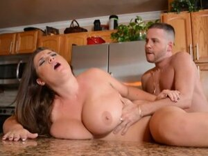 Busty bbw wife fucked in the kitchen