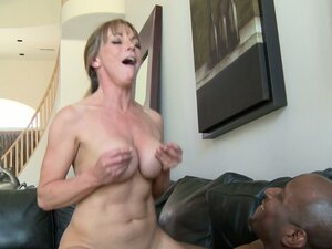 Mature blonde cougar Shayla Laveaux gets stuffed by BBC