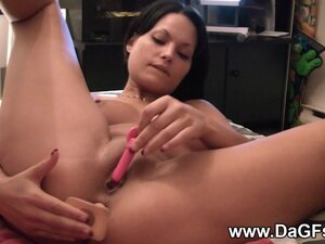 Squirting girlfriend gets assfucked
