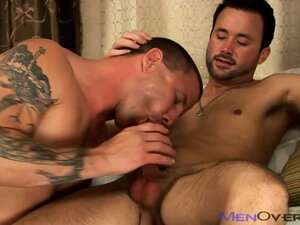 Dude gets his hole gaped open and eaten out by his buttbuddy