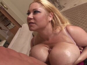 Big-titted Samantha 38G is getting fucked