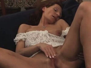 Mature woman is laying part5