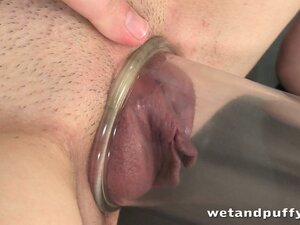 Zena pumps it up and makes her pussy a nice fat, juicy mess in this solo