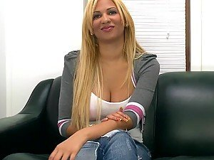 Horny Stripper Goes to the Casting Couch