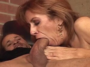 Naughty and nasty milf Mikela Kennedy gives him a nice BJ