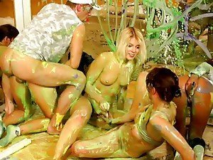 Unbelievable Orgy Sex That Gets Wet and Messy!