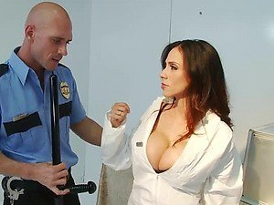 Police Officer Fucks Busty Scientist Ariella Ferrera