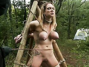 Erotic abduction role play and BDSM features with three sexy chicks