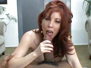 BBC for this redhead to gobble